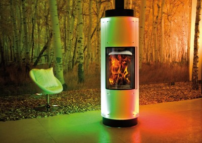 Max Blank - Kaminofen - Nantes L Light'n'Fire mit LED